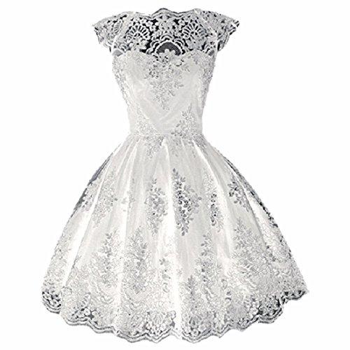 fiesta gala baile Vestidos Vestido de de coctel de xl de fiesta corto Vestido formal blancos Fiesta de RwATnq5