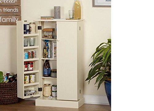 Pine Utility Kitchen Pantry by Simple Living Products