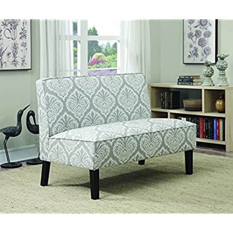 Coaster Home Furnishings 902451 Patterned Settee Grey