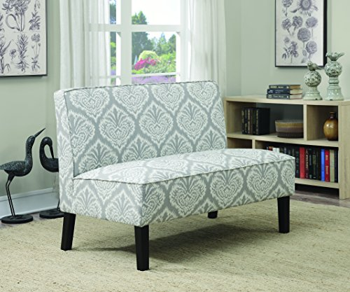 Coaster Home Furnishings 902451 Patterned Settee, Grey (Bed Settees For Sale)