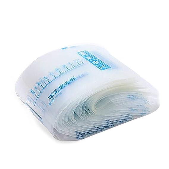 Bolsas Leche Materna para el Almacenamiento Pre-Esterilizadas - Bolsas de Ahorro de Leche Materna a Prueba de Fugas–Libre de BPA–Contenedores de Leche ...