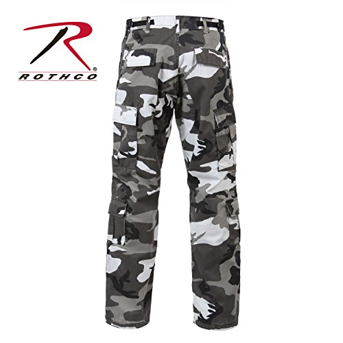 Rothco Vintage Paratrooper Fatigues, City Camo, Large