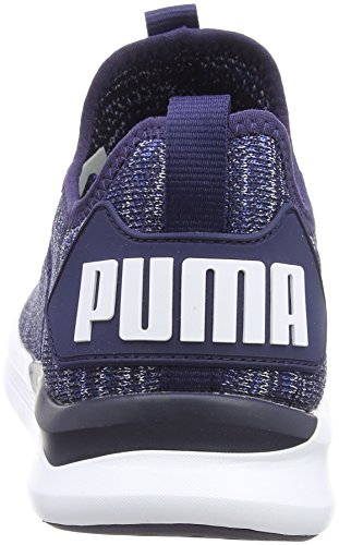 White Peacoat puma Puma turkish Evoknit Flash Sea Trainer Blau Cross Herren Ignite nTS0P