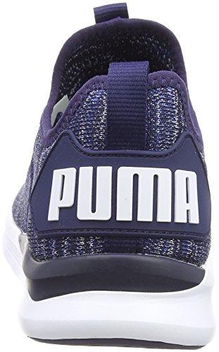 Flash Puma Sea Evoknit Sea Ignite peacoat Pour White Bleu Chaussures turk Homme D'entranement puma TRB5qR