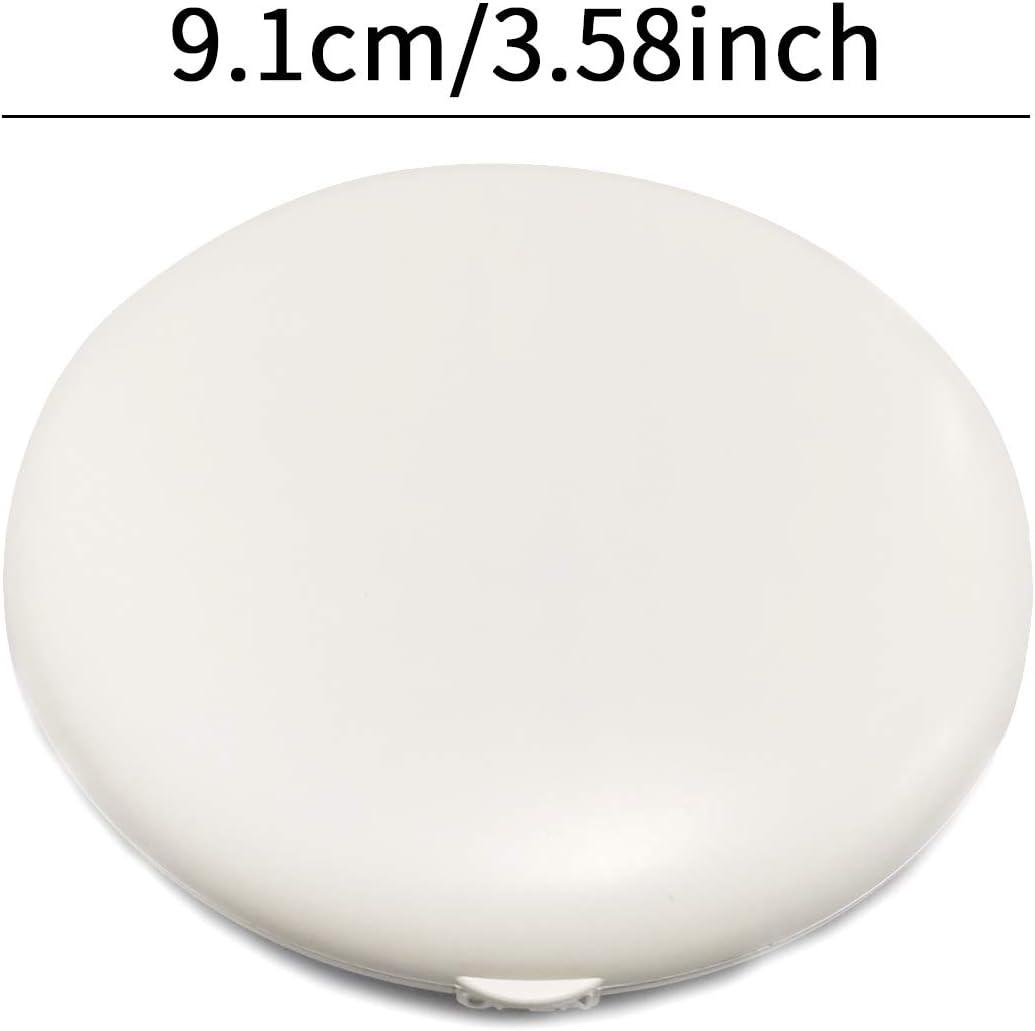 HEIGOO Portable Compact Mirror 1x//2x,8 Leds Lighted Portable Mirror,Foldable Travel Mirror,for Business,Travel