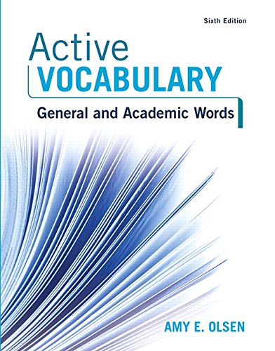 Top recommendation for active vocabulary 6th edition