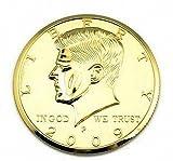 Jumbo Golden Half Dollar (3 Inches ) - Coin&Money Magic