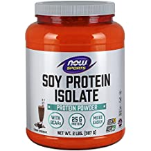 NOW Sports Soy Protein Isolate, Natural Chocolate, 2-Pound