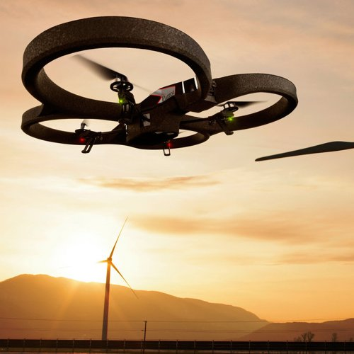 Parrot-ARDrone-20-Quadricopter-Controlled-by-iPod-touch-iPhone-iPad-and-Android-Devices-OrangeGreen-Discontinued-by-Manufacturer
