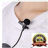 Ceuta Retails® 3.5 mm Clip Collar Mike for Voice Recording, Mobile, Pc, Laptop, Android Smartphones, DSLR Camera (Black)