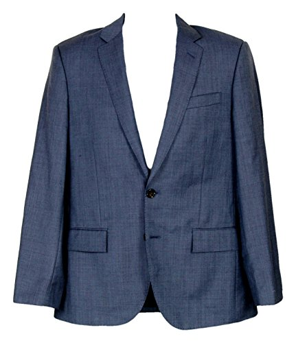 (J Crew Ludlow Suit Jacket Double Vent Italian Worsted Wool 42R 11707 Harbor)