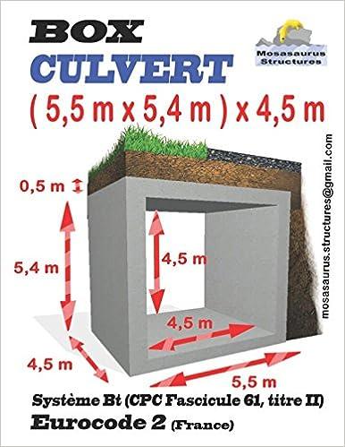 BOX CULVERT ( 5, 5 m x 5, 4 m ) x 4, 5 m: Eurocode 2
