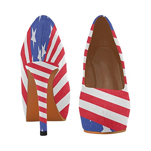 D-Story Flamingo Womens Sexy Stiletto High Heel Pumps Shoes Multicolored5 v8nElT