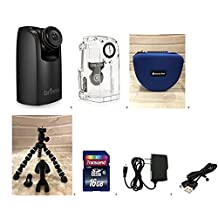 Brinno TLC200PRO HDR Time Lapse Video Camera + ATH120 Weather Resistant Housing + Smartec Camera Bag + Smartec Flexible Spider Tripod + 16GB SD + USB Cable + Wall Power Supply