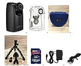 Brinno TLC200PRO HDR Time Lapse Video Camera + ATH120 Weather Resistant Housing + Smartec Camera Bag + Smartec Flexible Spider Tripod +KIT