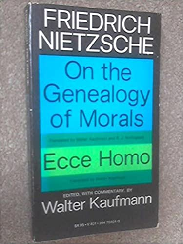 The genealogy of morals second essay