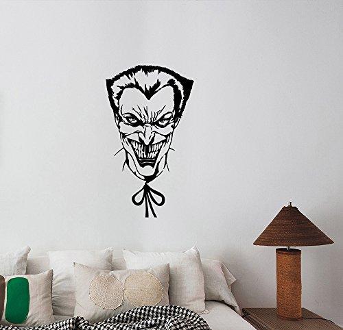 Joker Wall Art Decal DC Comics Movie Superhero Sticker Decorations for Home Kids Living Room Bedroom Dorm Decor jkr2
