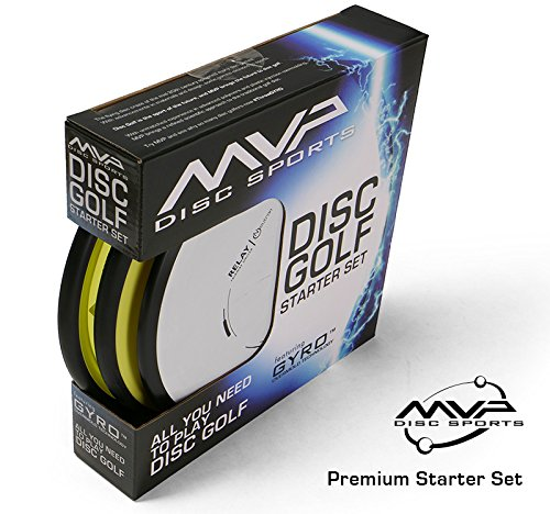 MVP Disc Sports 3-Disc Premium Disc Golf Starter Set [Colors and Models may vary] by MVP Disc Sports