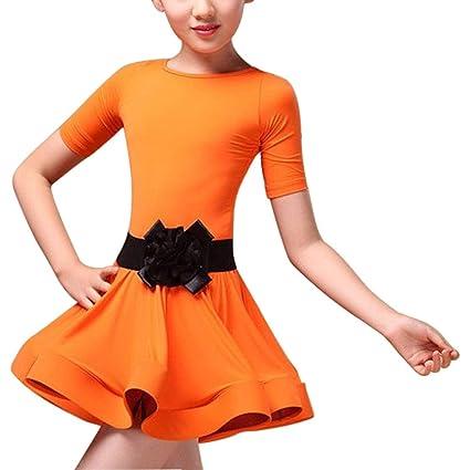 Daytwork Danza Ropa Vestido Niñas - Niños Latina Salsa Ballet ...