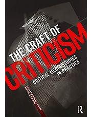 The Craft of Criticism: Critical Media Studies in Practice