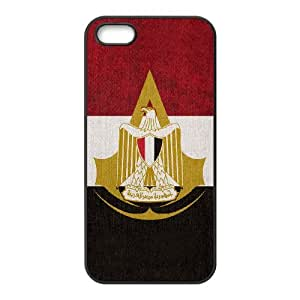 iPhone 5,5S Assassin's Creed pattern design Phone Case HAC13SJ13579