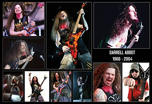 Mile High Media Dimebag Darrell Abbott Poster 13x19 Inch Collage Series | Photo Quality Color Print | Pantera | Hell Yeah