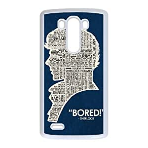 Sherlock LG G3 Cell Phone Case White MSY196815AEW