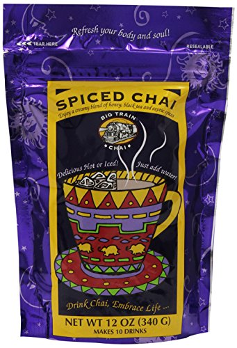 Mix Chai (Big Train Spiced Chai Mix, 12-Ounce Bags (Pack of 3))