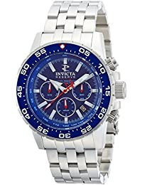 Invicta 1469 Reserve Ocean Master Automatic Stainless Steel Blue Dial Mens Watch