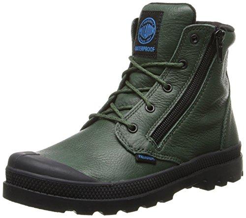 Palladium Pampa HI Leather Gusset Boot (Toddler/Little Kid/Big Kid) - stylishcombatboots.com