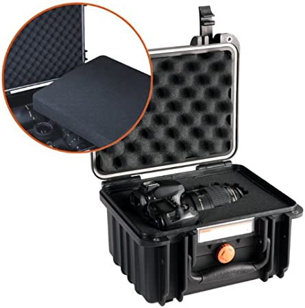 Vanguard SUPREME 46F Heavy Duty Waterproof and Dustproof Professional Hard Case with Pick n Pluck Foam Interior