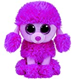 """Ty Beanie Boos PATSY Pink Poodle Dog 6"""""""