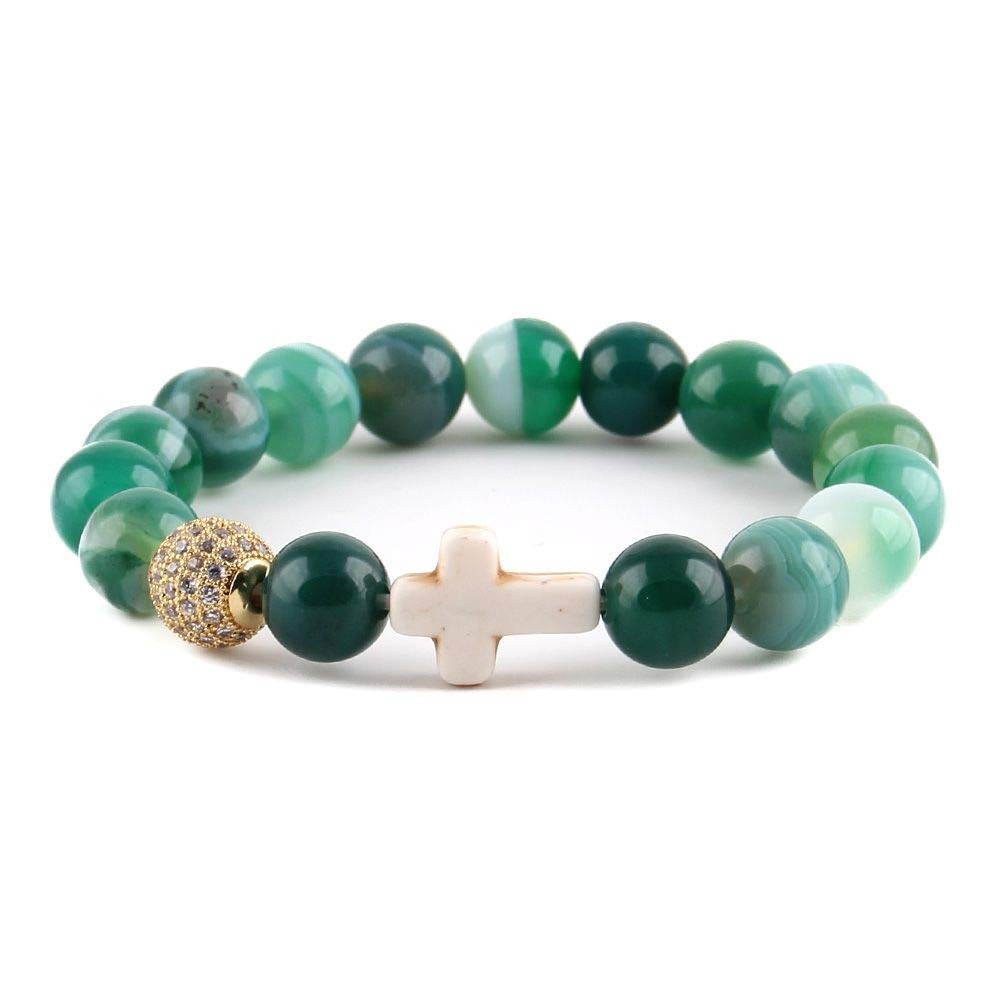 WDAIJY Pulsera Mujer,Charm Bracelet Yoga Mala Muñeca Juego ...