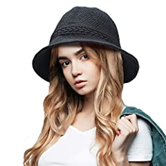 Features: ♥FOLDABLE: folds up easily, or roll brim up to make it compact and packable. ♥7 POPULAR COLORS: Navy, Black, Camel, Red, Grey, Brown, Dark grey, these colors are stylish, steady and elegant. The ideal hat style with these colors mak...