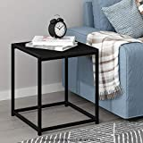 FURINNO Camnus Modern Living End Table, Americano