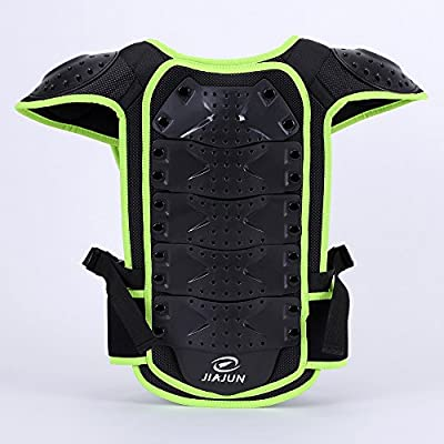 JIAJUN Children Bicycle Motorcycle Armor Armor Vest Back Protector Men's Armored Street Racing Motorcycle Jacket: Automotive