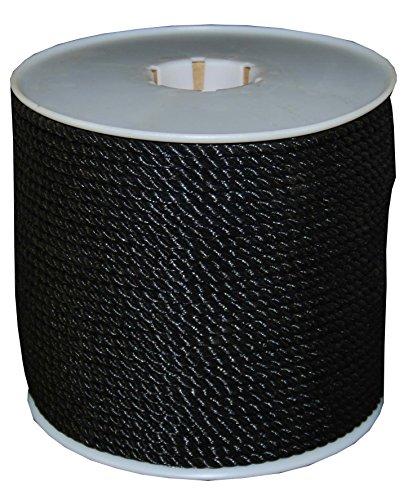 T.W . Evans Cordage 244 Black Polypro Rope, 5/16-Inch x 600-Feet