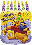 Amscan International S-shape Packaged Pooh Cake