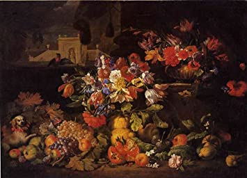 Amazon|ブリューゲル・「花と果...