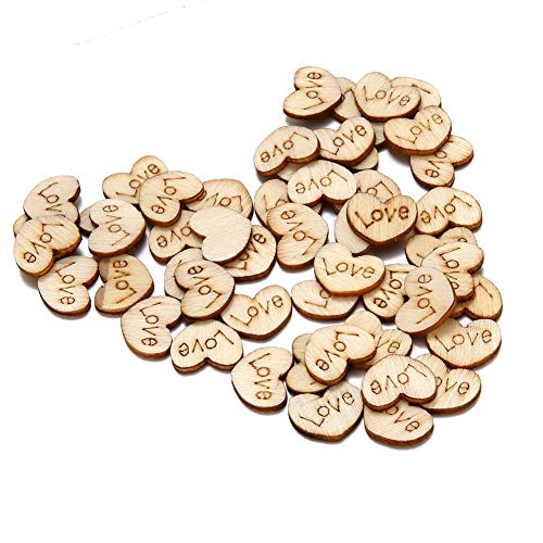 Loose Love Letter Wood Beads Appointment Wedding Decor Ideas New ()