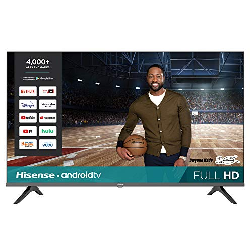 🥇 Hisense 43-Inch Full HD Smart Android TV with Voice Remote