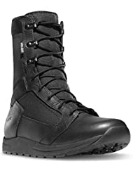 Danner Tachyon 8 Height Black (50122) Gore-TEX Plain Toe Military, Duty Boot | Waterproof Tachyon