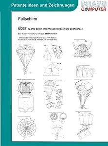 Fallschirme, über 10.000 Seiten (DIN A4) patente Ideen und Zeichnungen