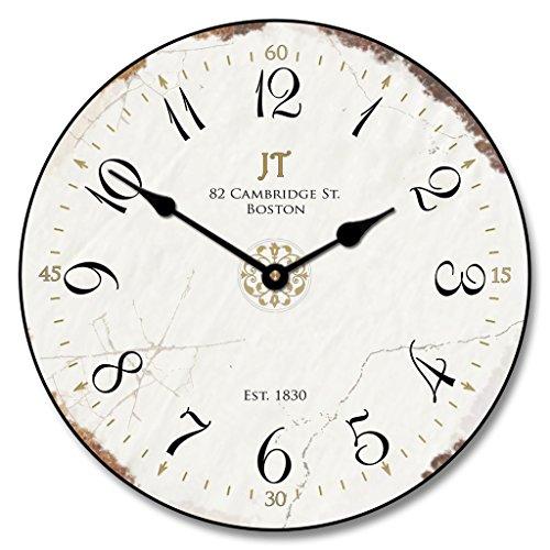 white vintage wall clock - 1