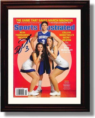 Framed Doug McDermott Sports Illustrated Autograph Replica Print - Creighton Blue Jays