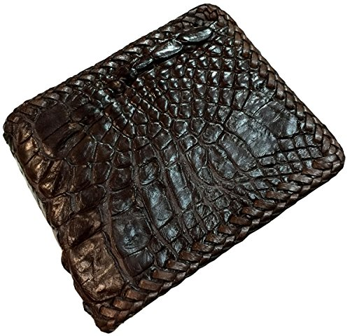b37fa9097387 We Analyzed 2,276 Reviews To Find THE BEST Crocodile Leather Wallet