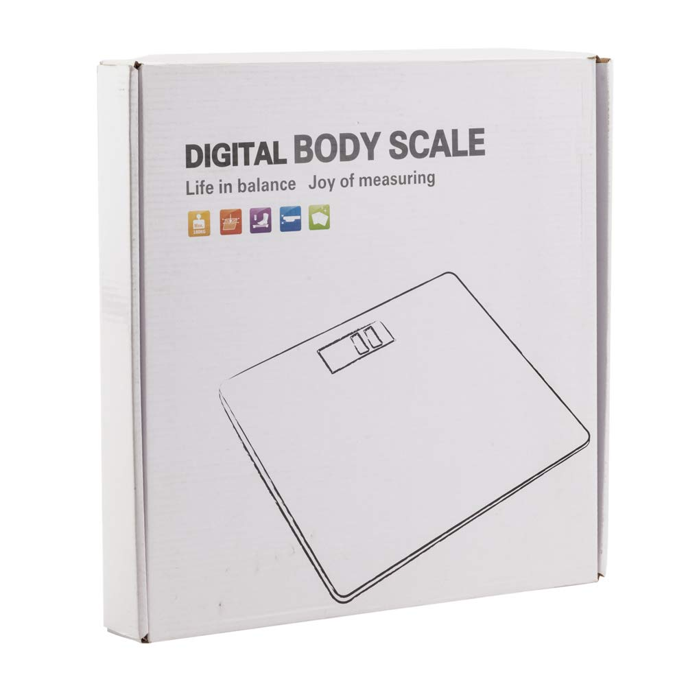 Quklei Digital Body Fat Scale, Unisex Weight Scale Health Analyser Fat Muscle BMI Black (US Stock) by Quklei (Image #7)