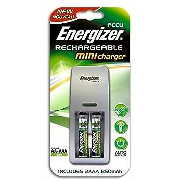 Energizer-Cargador de coche mini HR03 (AAA) 2piles ...