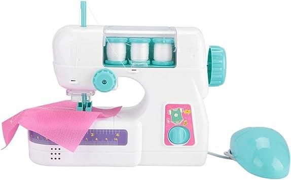 Mini Juguete eléctrico de la máquina de Coser, plástico para niños ...