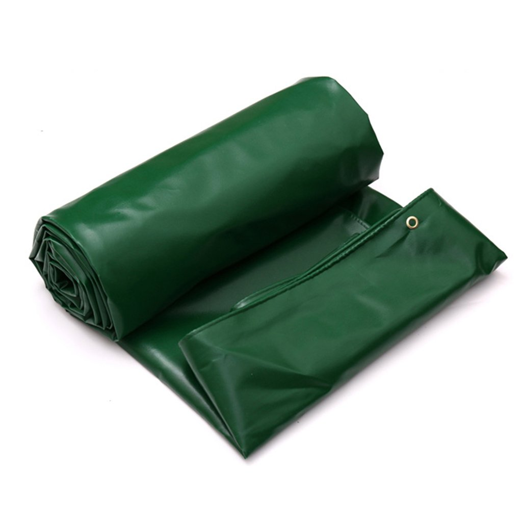 LWHY ダークグリーン防水ターポリン - 多目的PVCタールシート - 650g /m² (サイズ さいず : 2x3M) 2x3M  B07K1HXXHG